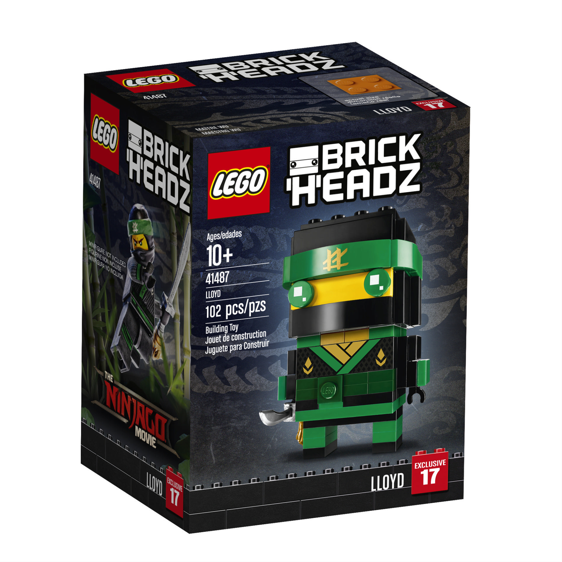 Lego Ninjago Toys Brains 2 Exclusive R UsBrick Brickheadz Movie At 4jqS5RA3Lc