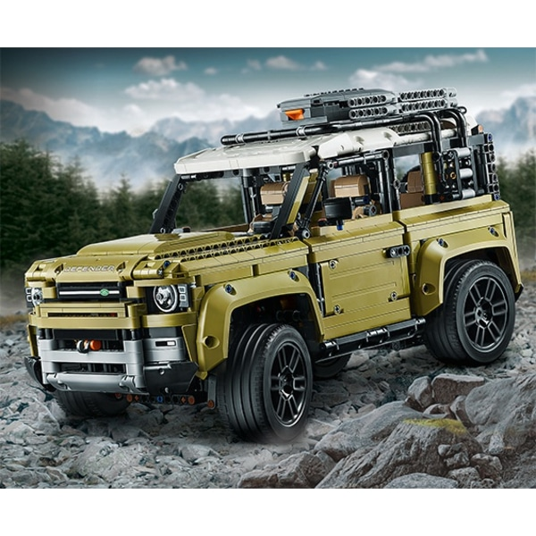2019 Land Rover Range Rover Suspension: Smyths Toys Reveals Technic Land Rover Defender
