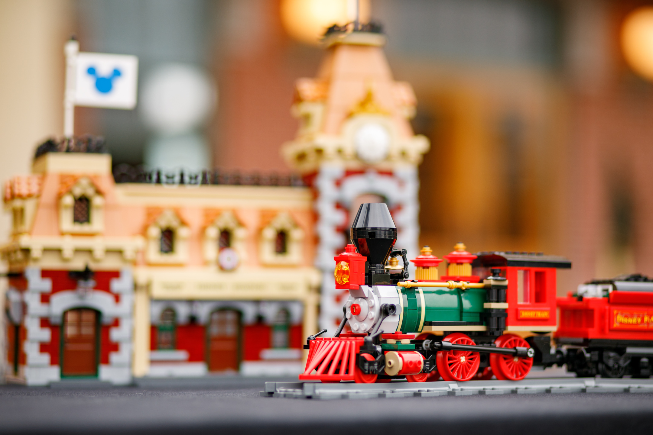 Disney Train & Station Set Launching August 21 | Brick Brains